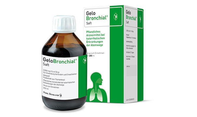 GeloBronchial®-Saft, 2808 mg/15 ml, Sirup