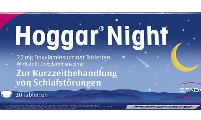 Hoggar® Night 25 mg Doxylaminsuccinat Tabletten